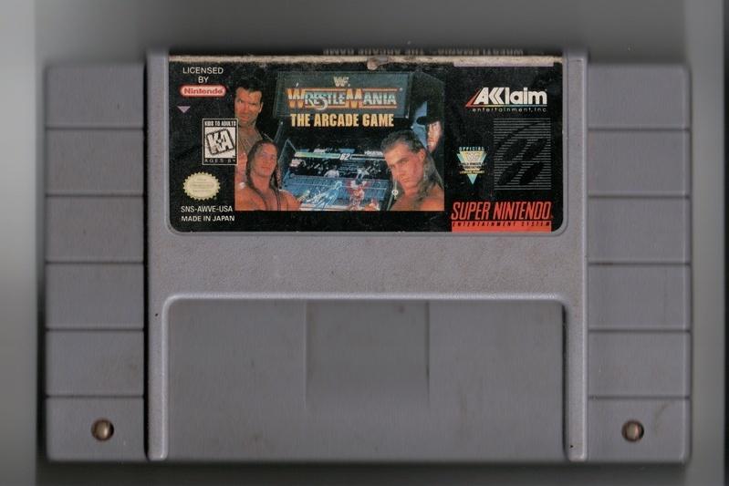 Wrestlemania:The Arcade Game